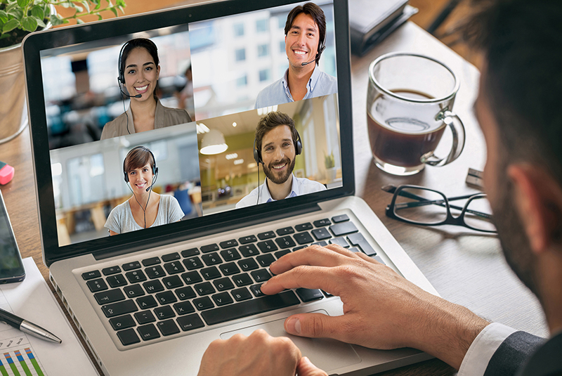 Virtual Team Tips: Best Practices from Remote Workers - image virtual-team-collaboration_blog on http://cavemaninasuit.com