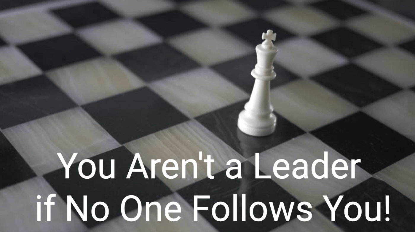 You are not a leader if no one follows you (Nine Lies - Lie #9) - image Snip20210922_9-1400x783 on http://cavemaninasuit.com